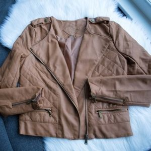 "*Juniors* JouJou ""Butterum"" Faux Leather Jacket XL"